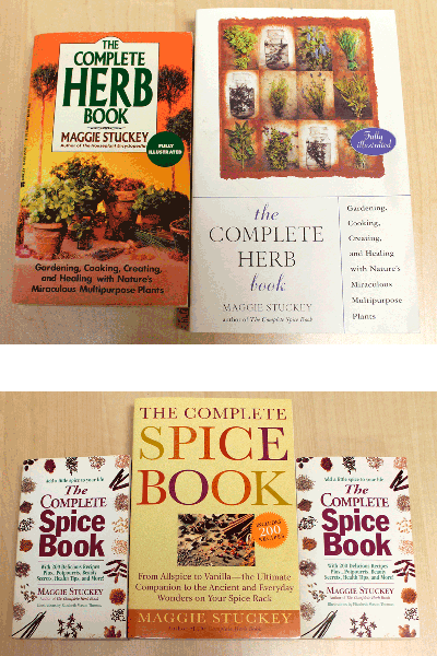 The Complete Herb Book, The Complete Spice Book