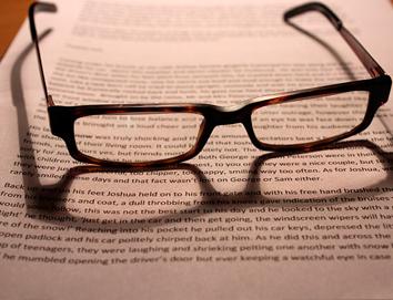 03-glassesonbook